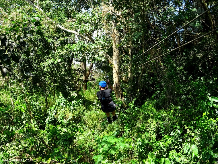 San Juan del Sur, Nicaragua zip lining