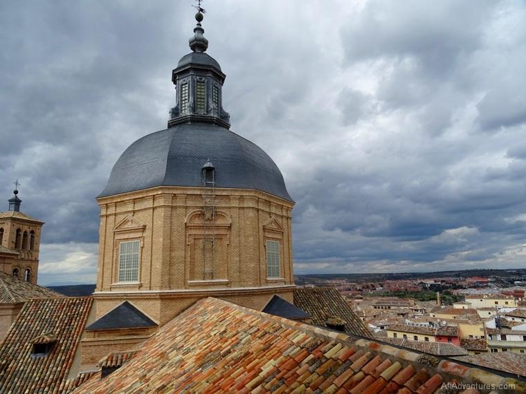 photos of Madrid, Toledo, and Salamanca - Toledo from above