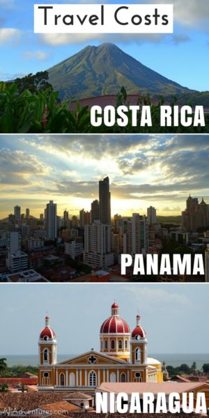 We spent a month traveling in Panama, Costa Rica, and Nicaragua. Here's how much we spent traveling in Central America doing cheap and expensive activities. | Central America travel expenses | Central America travel budget | How much does it cost to travel in Central America | Central America travel planning tips | transportation in Central America #centralamerica #panama #nicaragua #costarica #budgettravel #traveltips