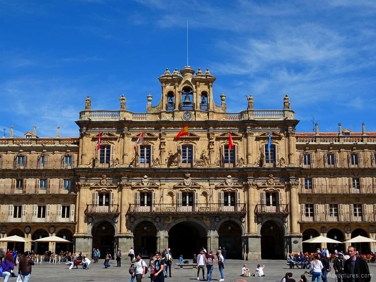 views of Salamanca Plaza Mayor