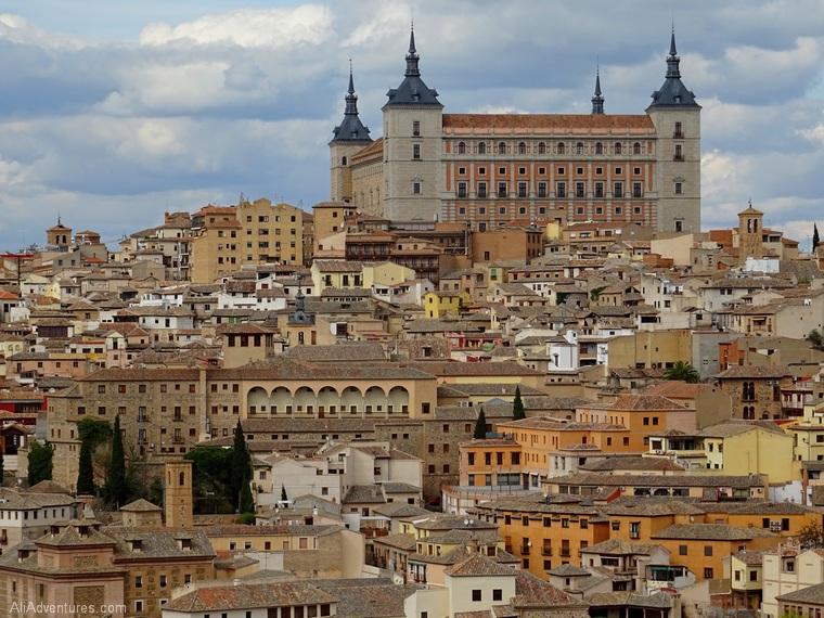 views of Toledo Spain Alcazar
