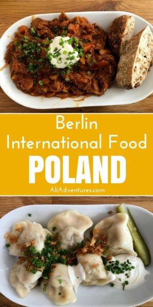 I continue exploring international food in Berlin by trying a Peruvian restaurant and a Polish restaurant. Both were interesting and tasty places to eat. | international restaurants in Berlin | international food in Berlin | where to eat in Berlin | food from Poland in Berlin | Polish food in Berlin | food from Peru in Berlin | Peruvian food in Berlin