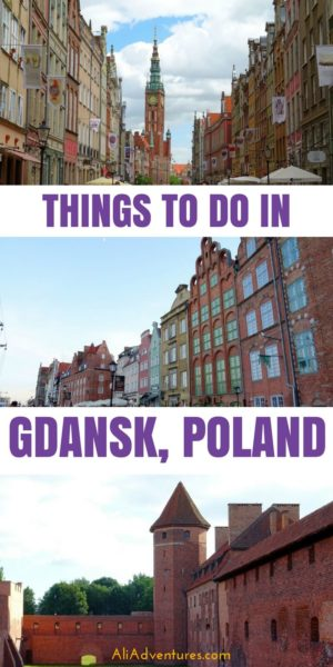 Gdansk is a port city in northern Poland that you should definitely include on your Poland itinerary. Here are the best things to do in Gdansk, Poland, plus tips on where to eat and where to stay. Also see why you should add a visit to Malbork Castle as a day trip from Gdansk. #poland #gdansk