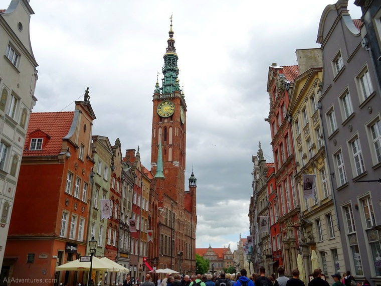 how much we spent traveling in Poland - Gdansk Poland Old Town
