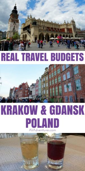 Krakow and Gdansk are Poland's most popular tourist cities. We traveled there for 9 nights/10 days, and both cities were fantastic and affordable with lots to do and tasty, cheap food. Here's how much we spent traveling in Gdansk and Krakow, Poland. #poland #krakow #gdansk #budgettravel