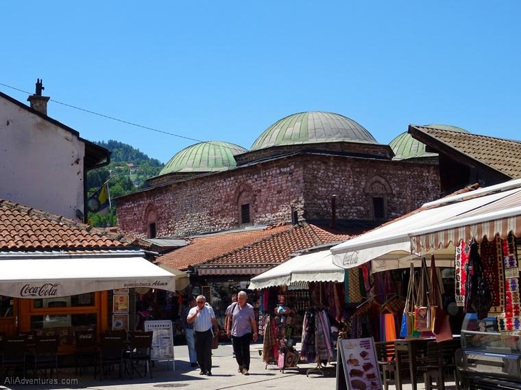 where to stay in Sarajevo - Old Town Sarajevo