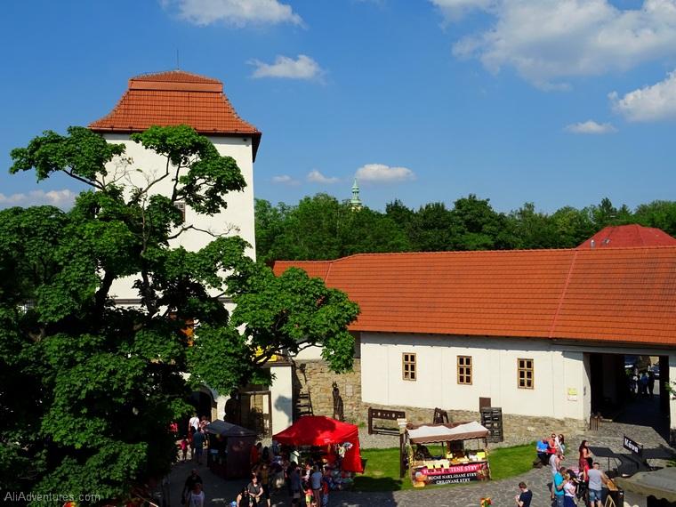 Ostrava castle