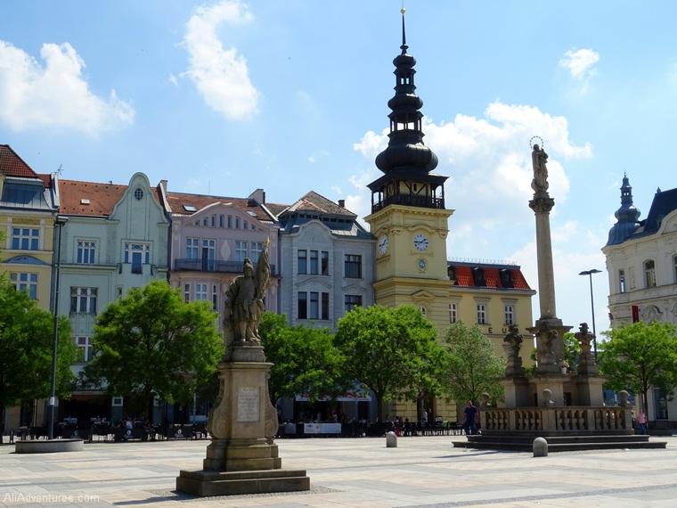 should you visit Ostrava? Ostrava main square