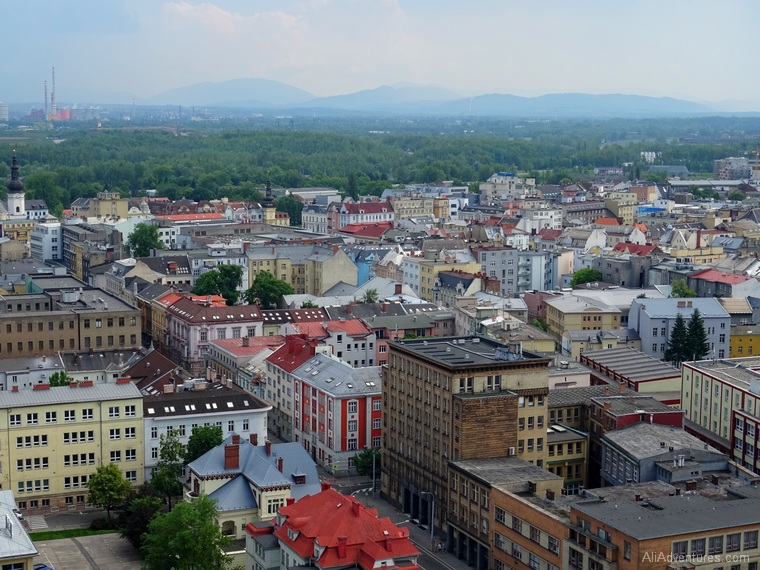 Ostrava views from city hall