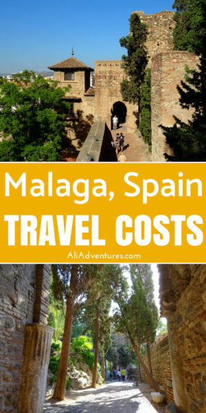 Southern Spain is the perfect destination when it's starting to get cold in northern Europe. I spent 6 days in Malaga relaxing and seeing some sights. Here's how much I spent traveling in Malaga, Spain. #spain #malaga #budgettravel