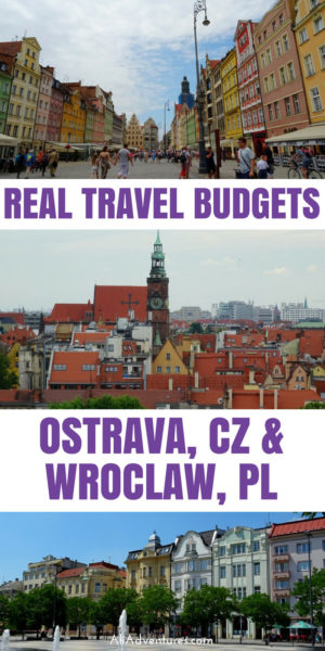 Czech Republic and Poland can both be inexpensive countries to travel to. See how much we spent traveling in Ostrava and Wrocław so you can start planning your travel budget for Poland and Czech Republic. #cz #czechrepublic #czechia #ostrava #wroclaw #poland #budgettravel #traveltips