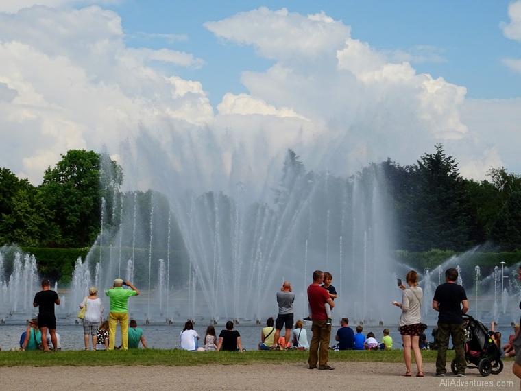 Wroclaw multimedia fountain