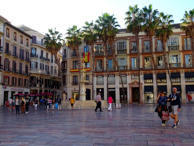 how much I spent in Malaga Spain