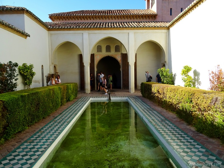 how much I spent in Malaga Spain - Alcazaba