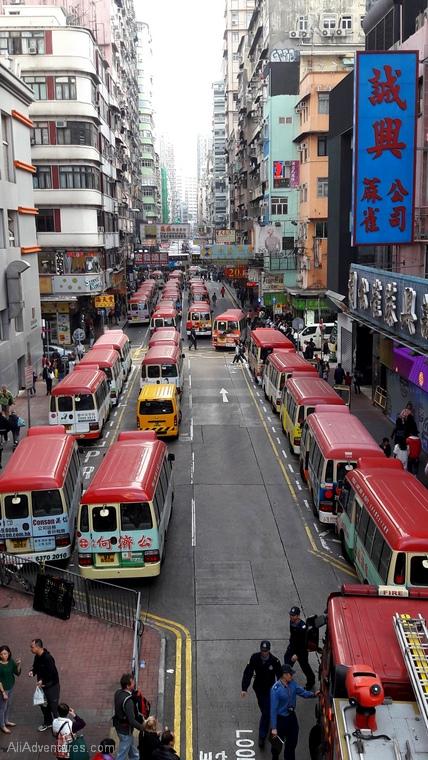 one week in Hong Kong - buses