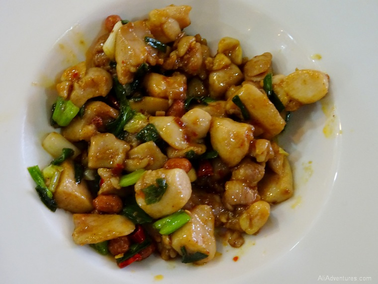 Hong Kong cooking class chicken