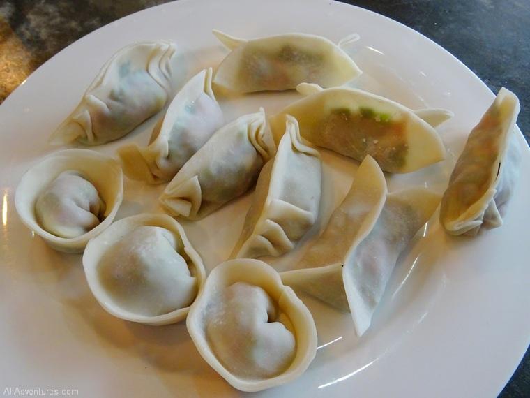 things to do in Hong Kong cooking class dumplings
