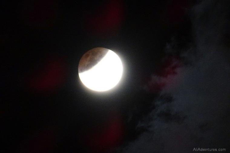 Hong Kong eclipse