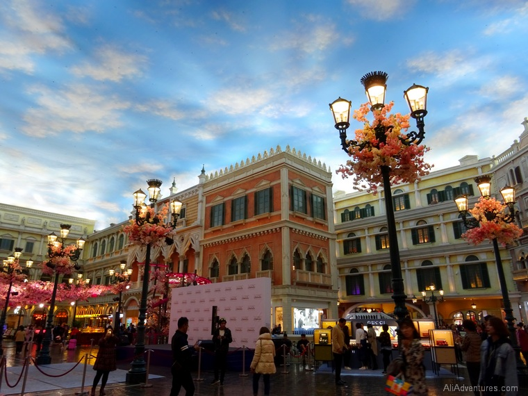 3 days in Macau - Venetian casino