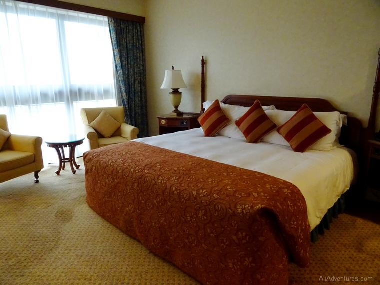 Macau hotel non renovated room