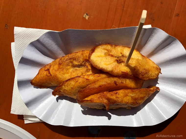 Cameroon street food Berlin plantains - Berlin International Restaurant Project