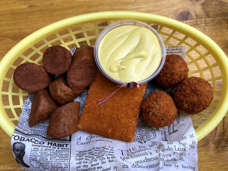 Dutch snack mix Berlin International Restaurant Project Netherlands