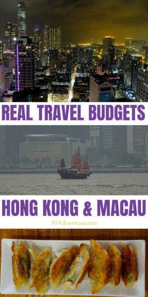 Hong Kong isn't a cheap destination, but it has a lot to offer. Here's how much we spent in Hong Kong and Macau for almost two weeks on a mid-range budget. #budgettravel #hongkong #hkg #macau #traveltips