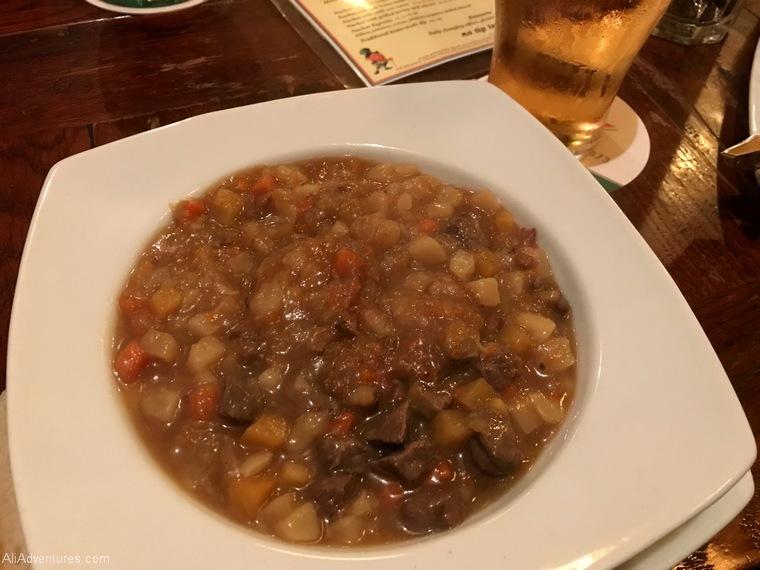 Irish stew Berlin International Restaurant Project Ireland