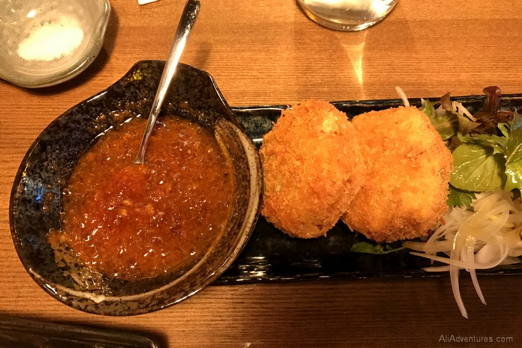 Japanese food breaded potato Berlin International Restaurant Project Japan