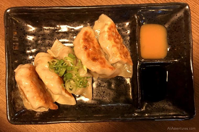 Japanese food dumplings Berlin International Restaurant Project Japan
