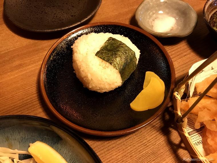 Japanese food rice ball Berlin International Restaurant Project Japan