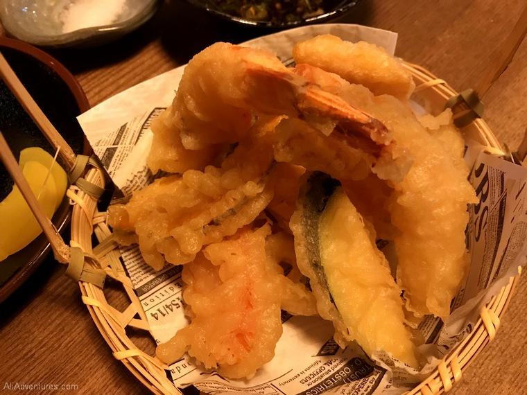 Japanese food tempura Berlin International Restaurant Project Japan