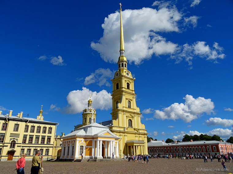 Russia river cruise St Petersburg Peter Paul Fortress