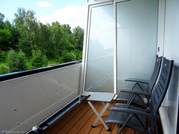 Russia river cruise Viking ship balcony