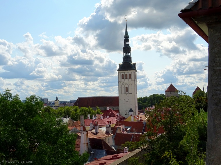 3 days in Tallinn Estonia - view of the city