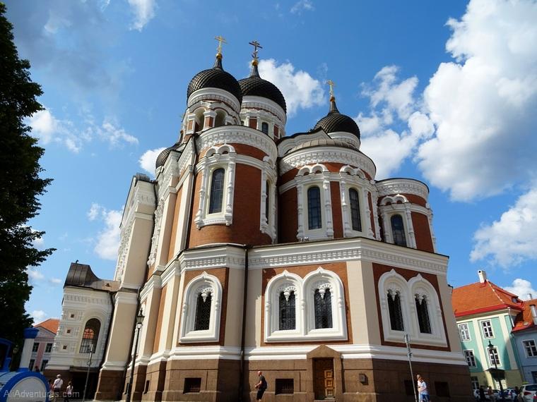 Tallinn Estonia old town church