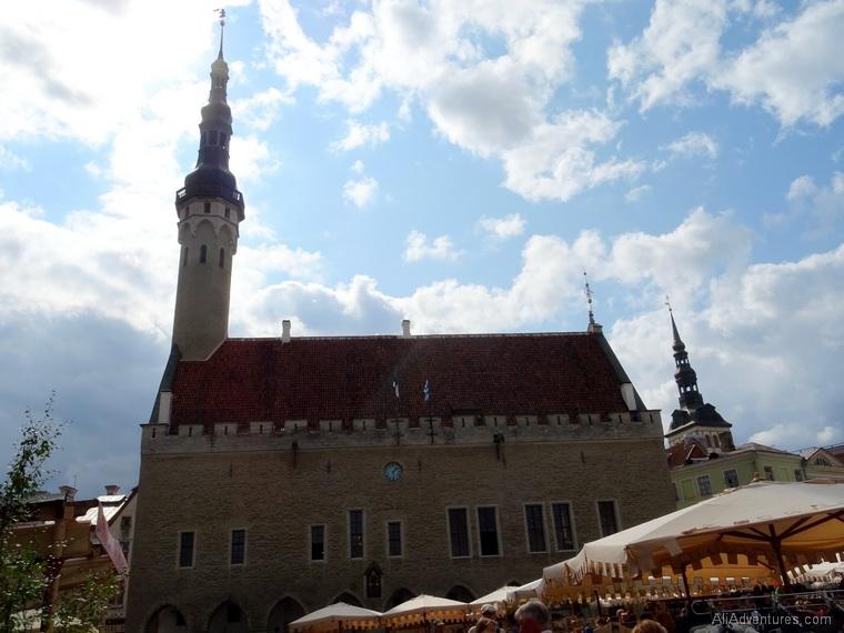Tallinn town hall tower climb