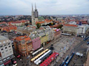 A Glimpse of Zagreb