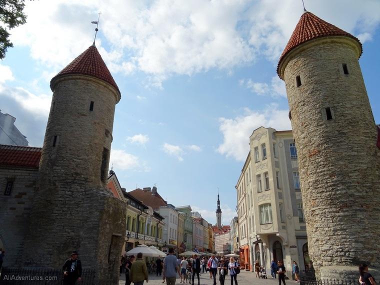 exploring old town Tallinn
