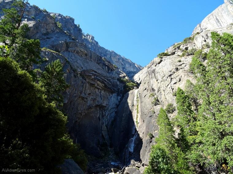 Yosemite park itinerary Yosemite Falls