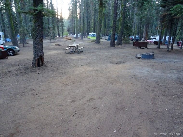 best place to camp in Yosemite