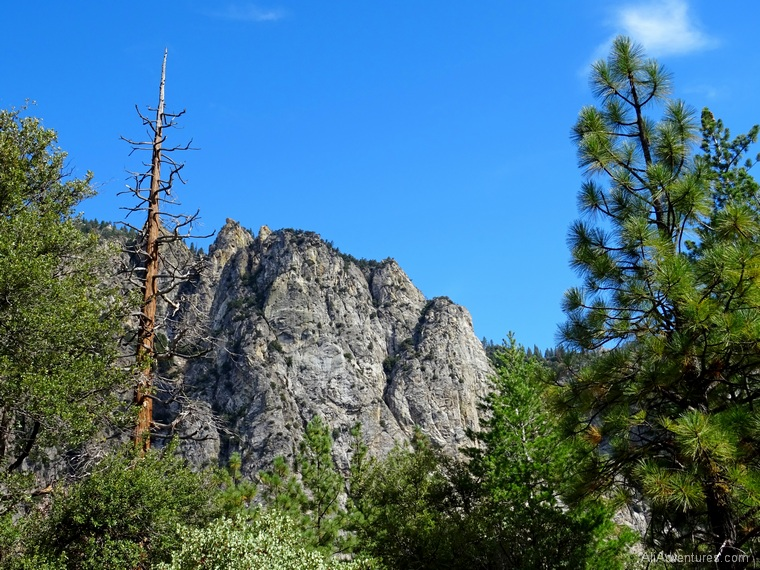 2 days in Kings Canyon National Park hiking