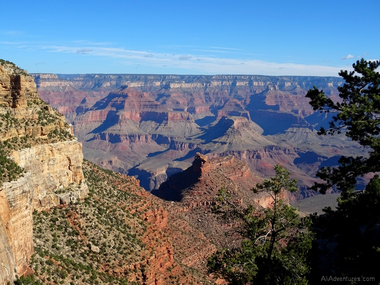 2 days in Grand Canyon Bright Angel Trail views