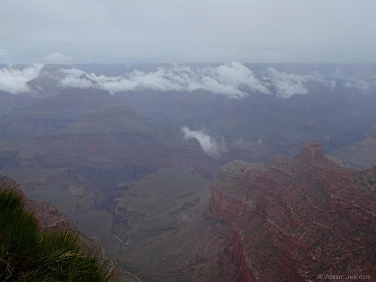 2 days in Grand Canyon Hurricane Rosa