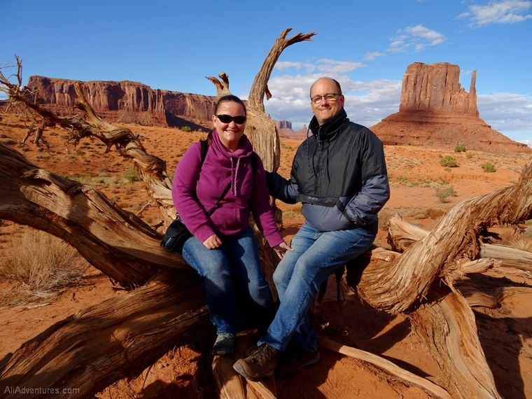 Ali and Andy in Monument Valley