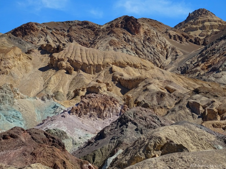 artists palette Death Valley Star Wars locations