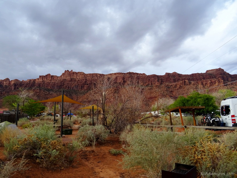 best place to camp in Moab UT