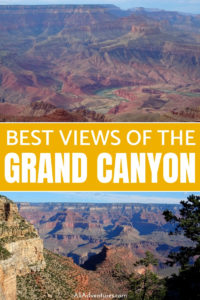 I think 2 days in Grand Canyon south rim is the least you should spend at this impressive national park. Here's what to do and where to see different views. #grandcanyon #az #arizona #usa #nationalparks #traveltips #travelplanning