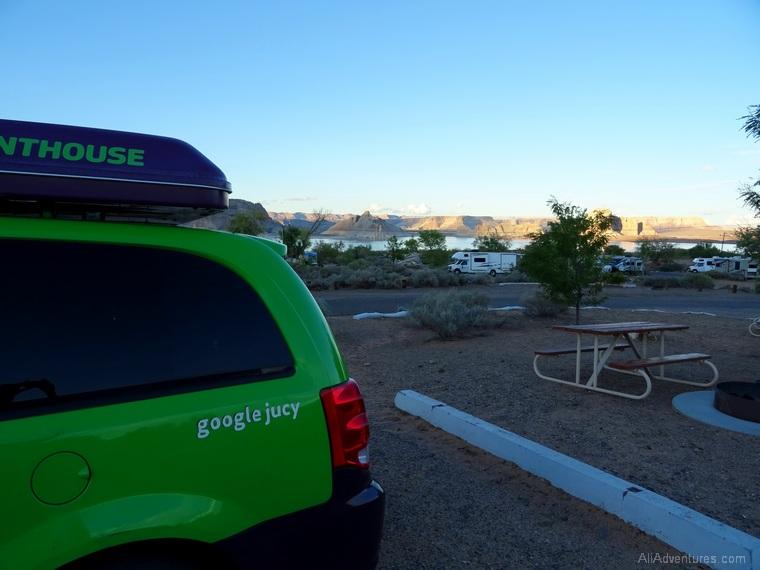 camping near Page AZ