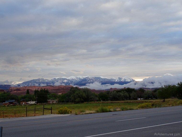 mountains near Moab UT